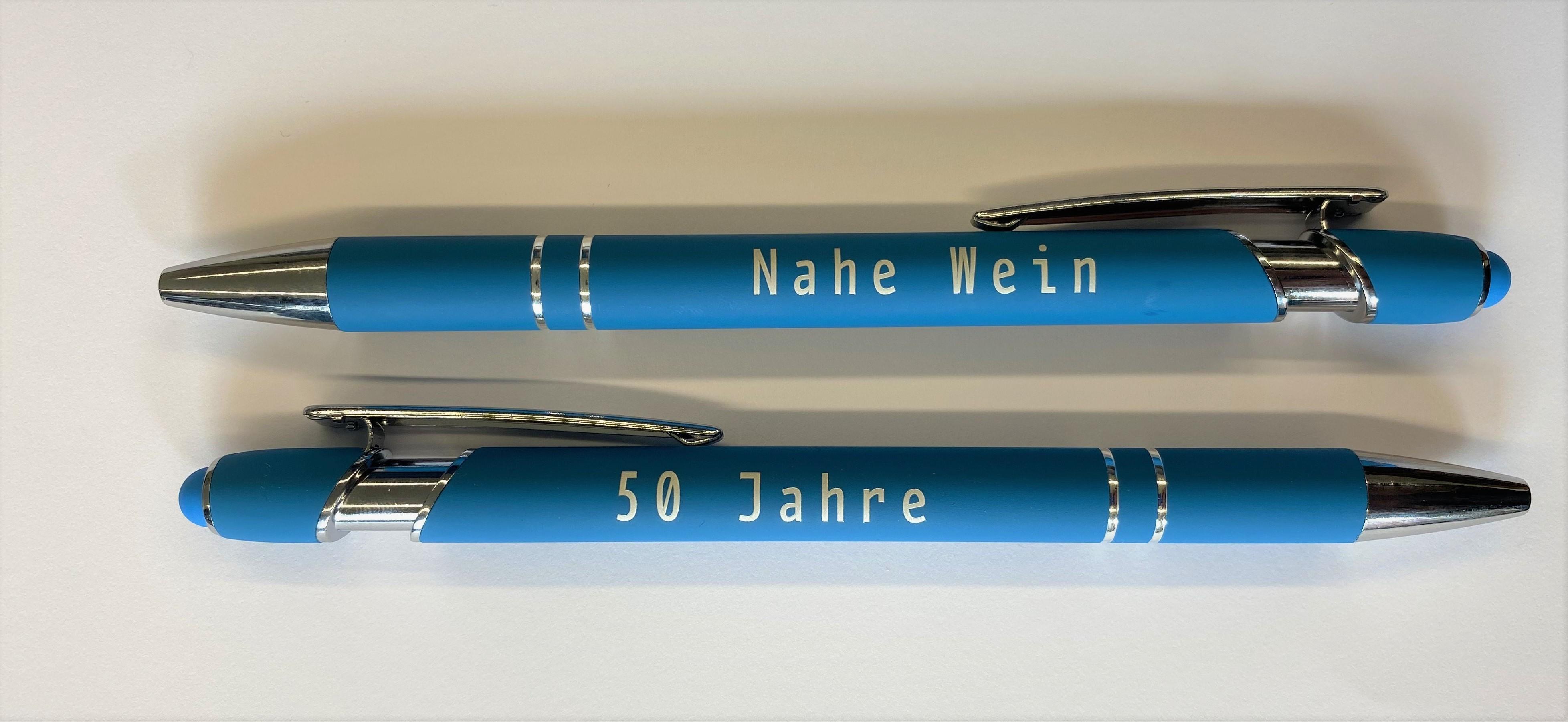 Soft-Touch Kugelschreiber - Jubiläums Edition