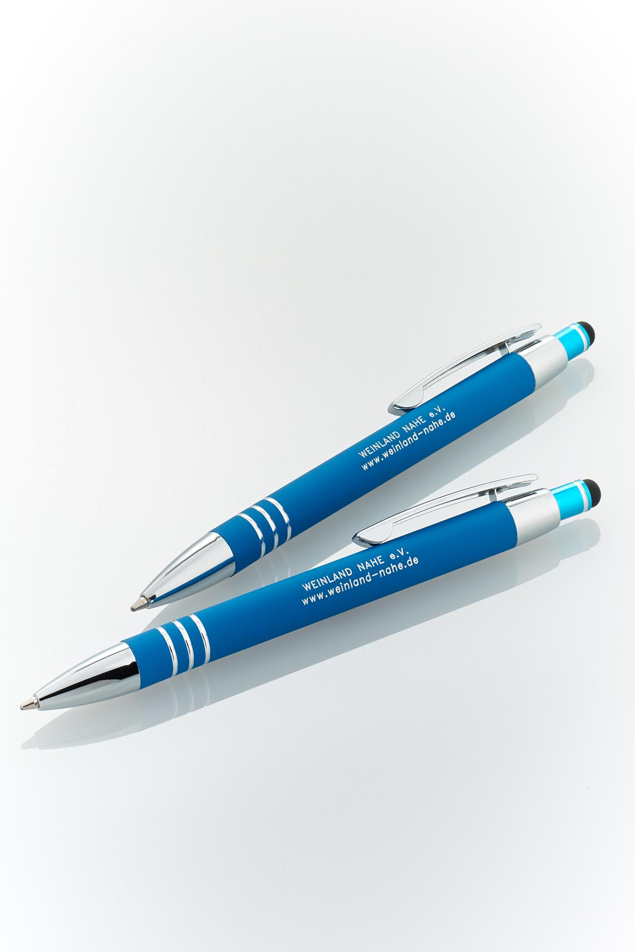 Soft-Touch Kugelschreiber mit Stylus