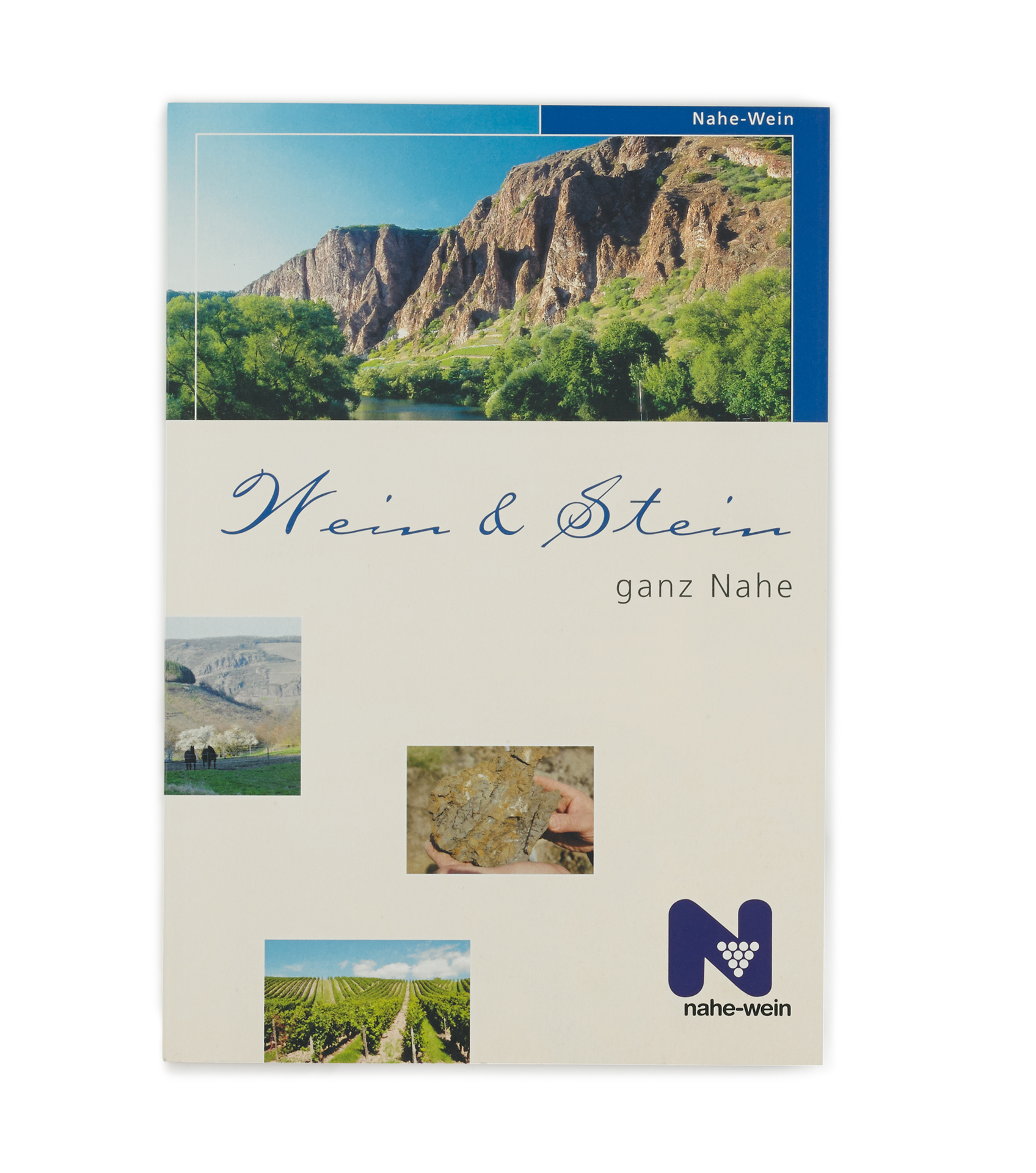 Broschüre Wein & Stein ganz Nahe