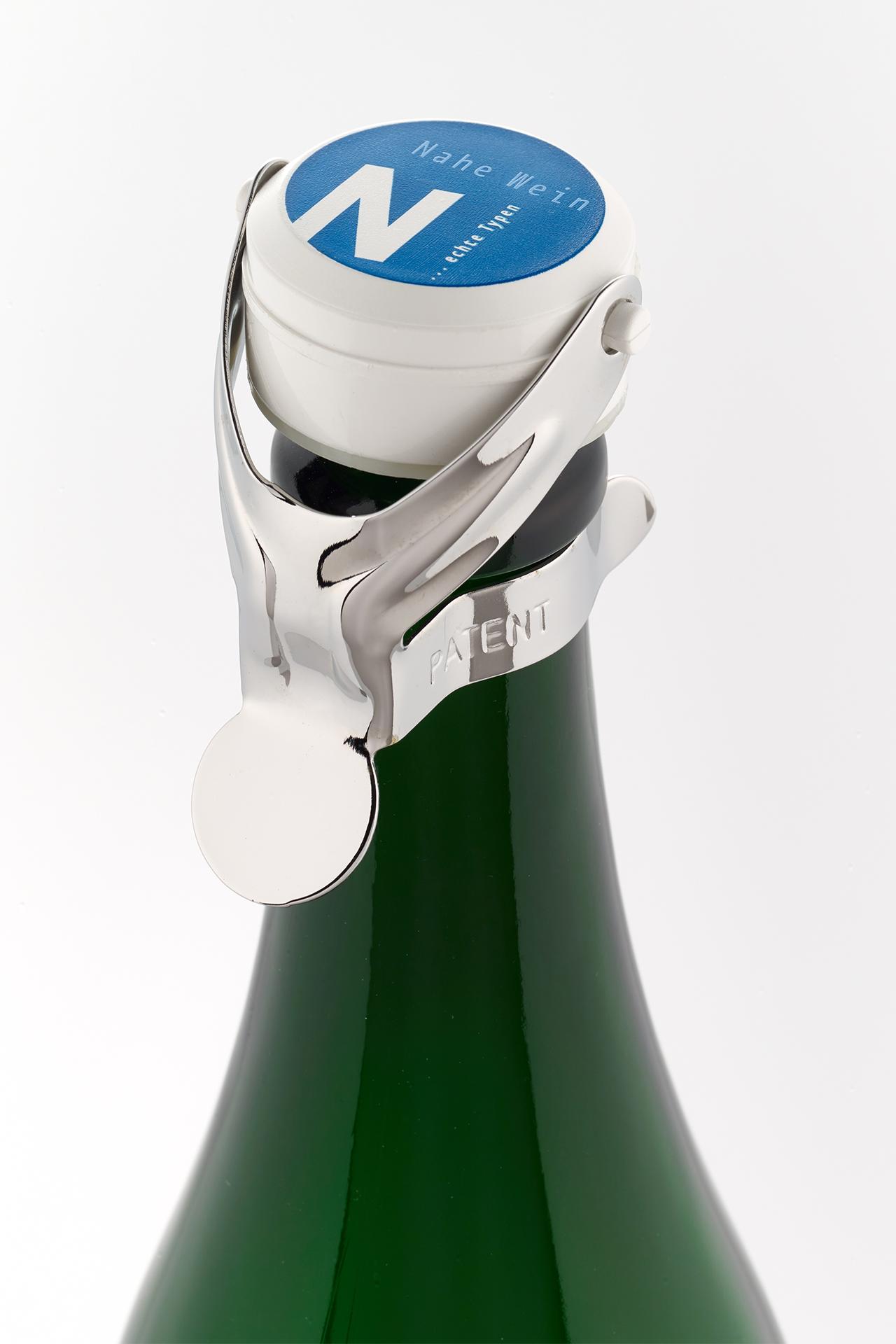 Sektflaschenverschluss 'Nahe Wein ...echte Typen'
